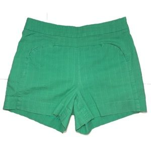 Cartonnier Remy shorts teal Anthropologie sz 10